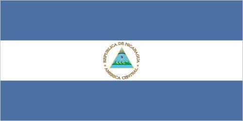 bandiera del Nicaragua