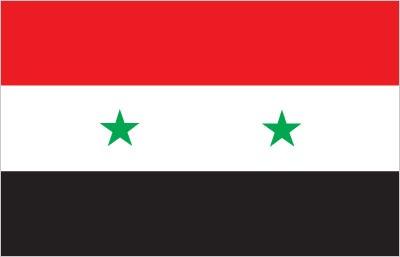 Bandiera della Syria