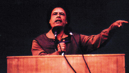 Muammar el-Gheddafi