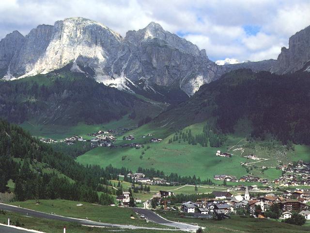 Panorama di Corvara (Bolzano)