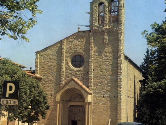La chiesa di San Domenico ad Arezzo