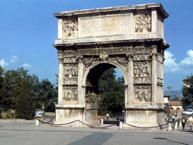 L'arco di Traiano a Benevento