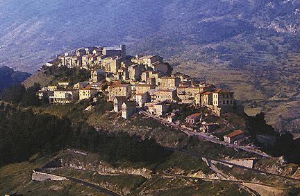 Panorama di Opi (L'Aquila)
