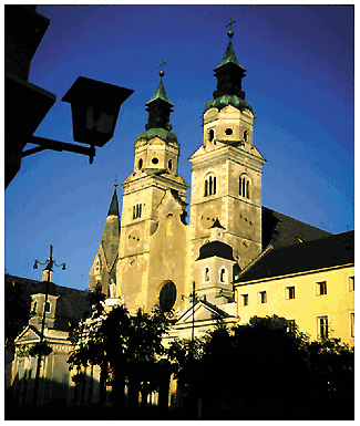 Il duomo di Bressanone (Bolzano)