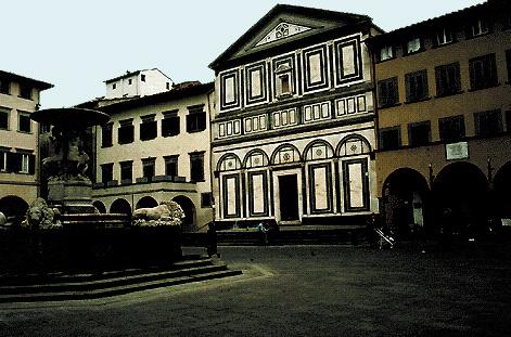 Empoli (Firenze): scorcio del centro storico