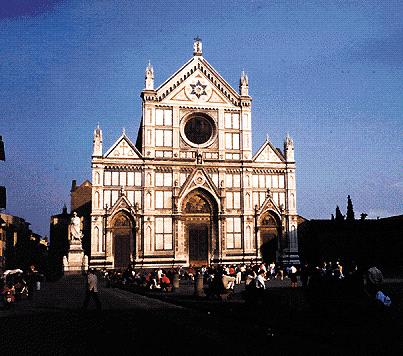 Firenze: la chiesa di Santa Croce