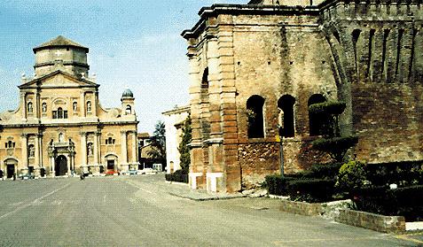 Il centro di Carpi (Modena)