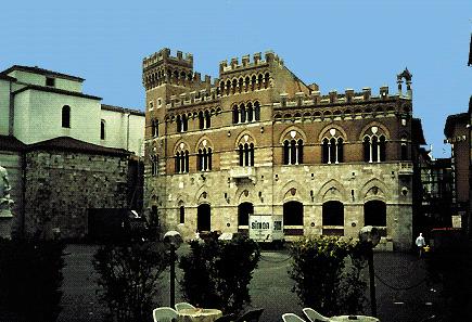 Palazzo della Provincia a Grosseto