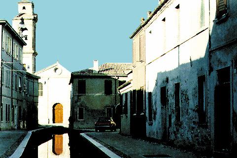 Il centro di Comacchio (Ferrara)