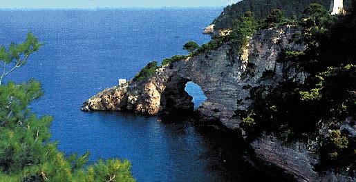 Panorama costiero sul Gargano