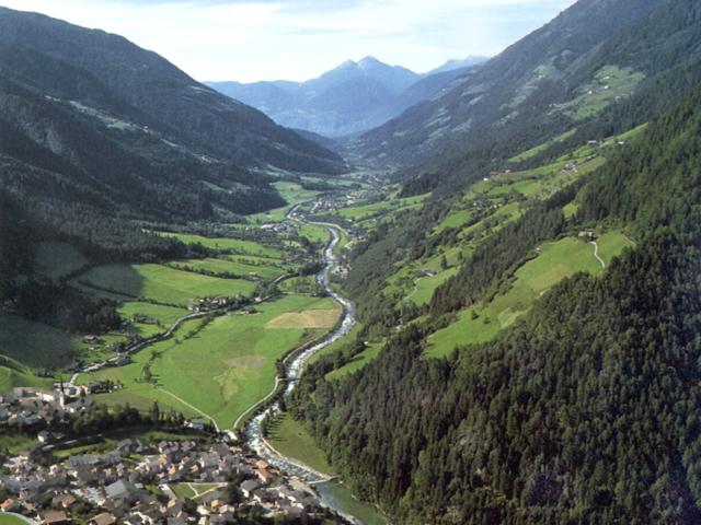 Panorama in Val Passiria (Alto Adige)