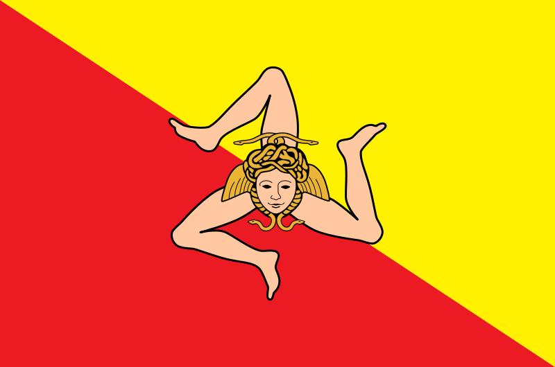 Bandiera della Siciliag