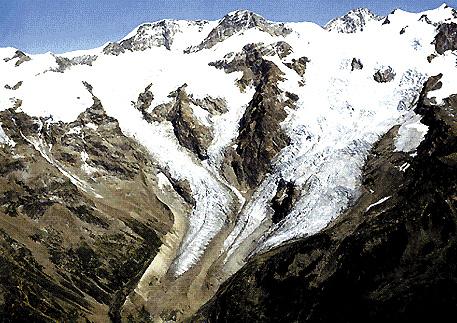 Veduta del Monte Rosa