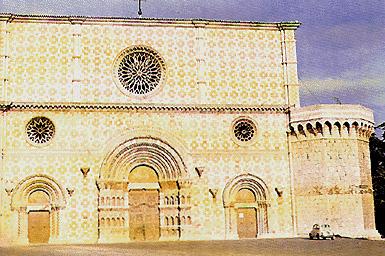 La basilica di Santa Maria di Collemaggio (L'Aquila)