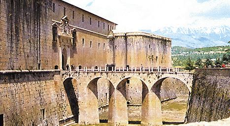 Il castello di L'Aquila