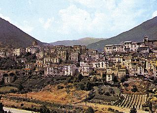 Scorcio di Pettorano sul Gizio (L'Aquila)