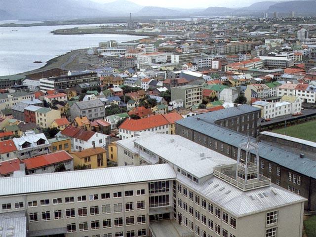 Veduta di Reykjavik