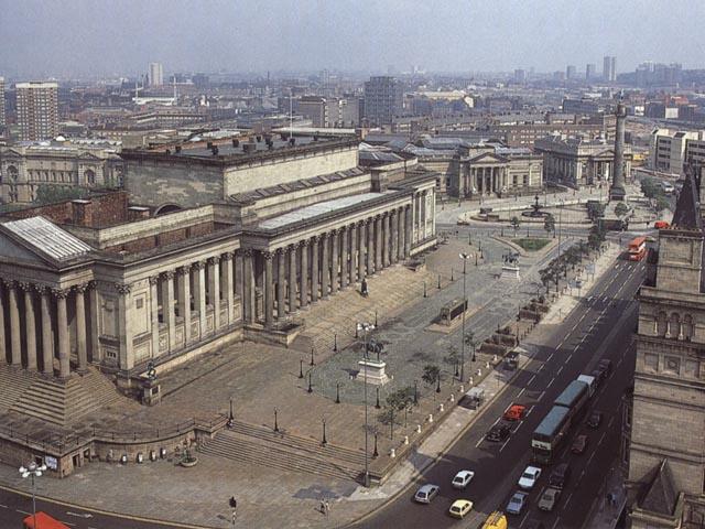 Liverpool: St. George's Hall e Wallker Art Gallery