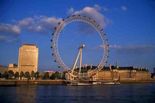 Scorcio del Tamigi a Londra