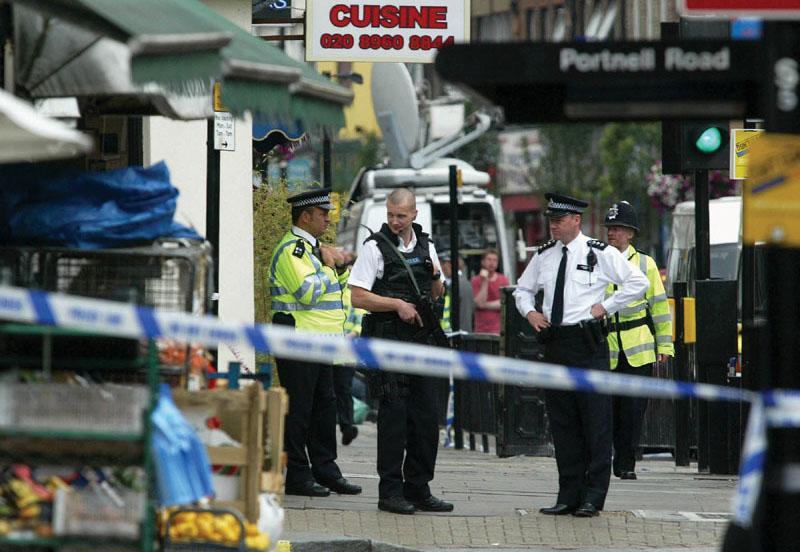 Uno dei luoghi degli attentati terroristici che hanno colpito Londra il 7 luglio 2005