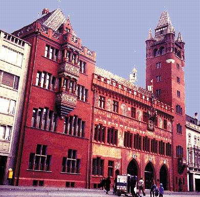 Basilea: Il Rathaus