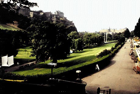 Edimburgo: Il parco cittadino