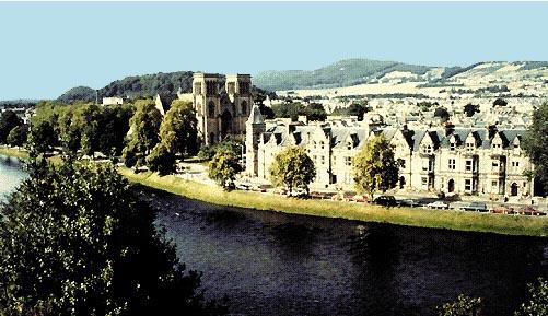 Il castello di Inverness, nella Scozia nord-orientale