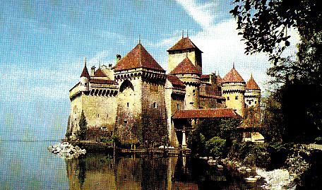 Il castello di Chillon, sul lago d Ginevra
