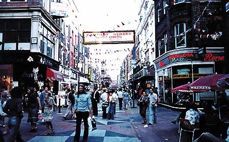Londra: Carnaby Street