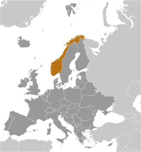La Norvegia in Europa