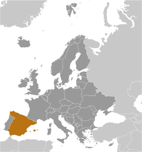 Spagna luogo