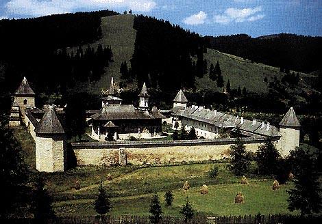 Il monastero di Sucevita in Bucovina