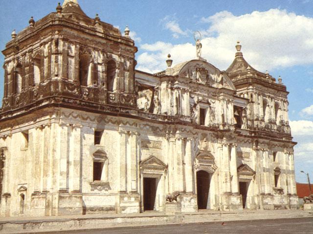 La cattedrale di León, in Nicaragua
