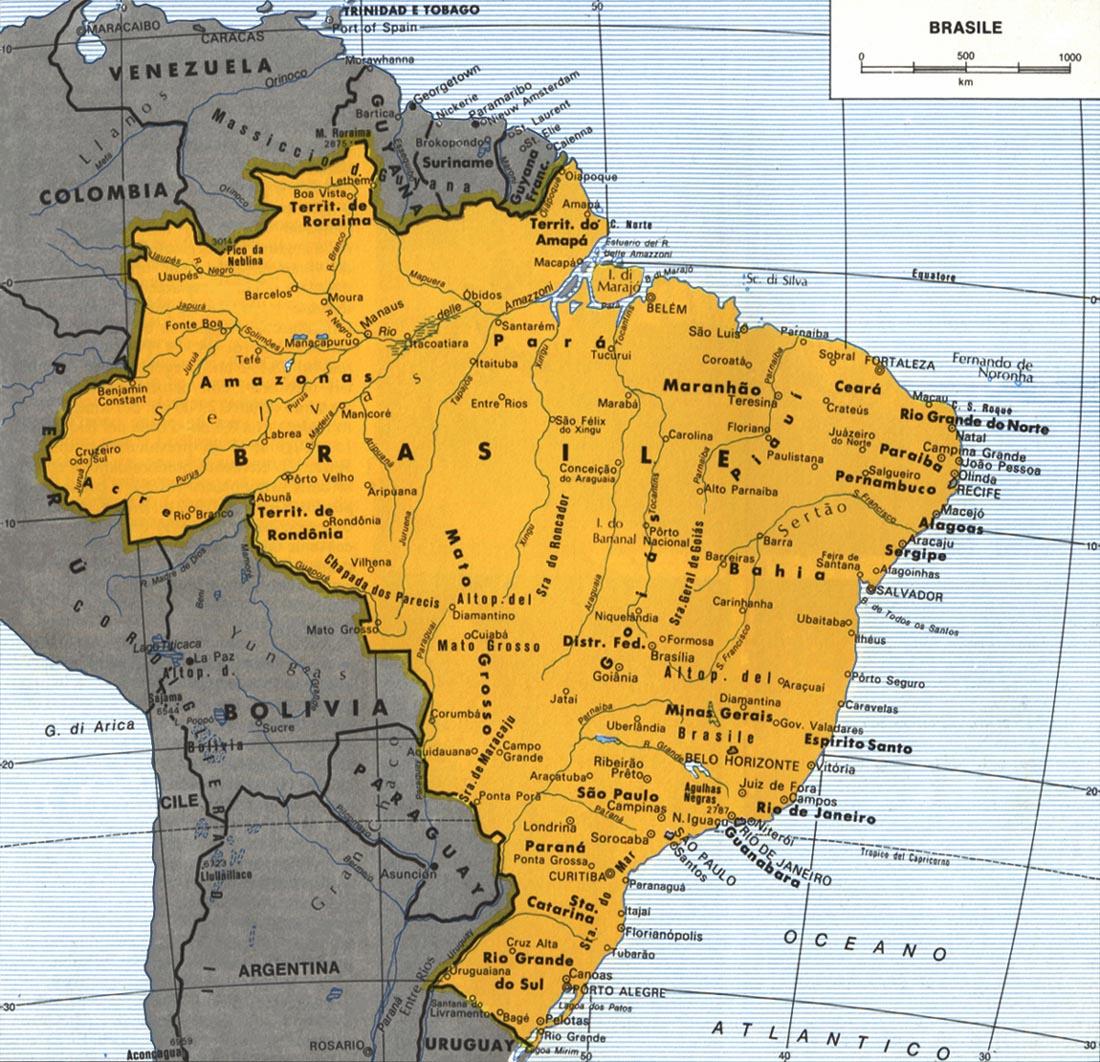 CArtina del Brasile