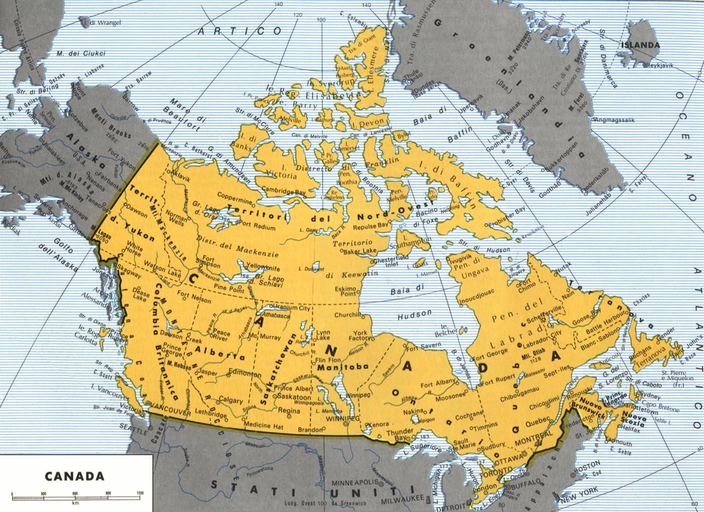 CArtina del Canada