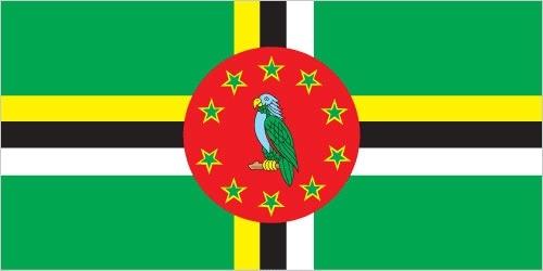 Bandiera della Dominica