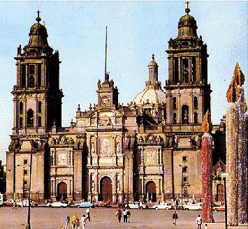 La cattedrale di Città del Messico