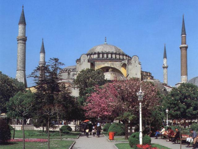 Istanbul: la moschea di Santa Sofia, ora museo