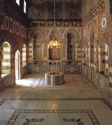 Damasco: una sala del palazzo Azem (1750)