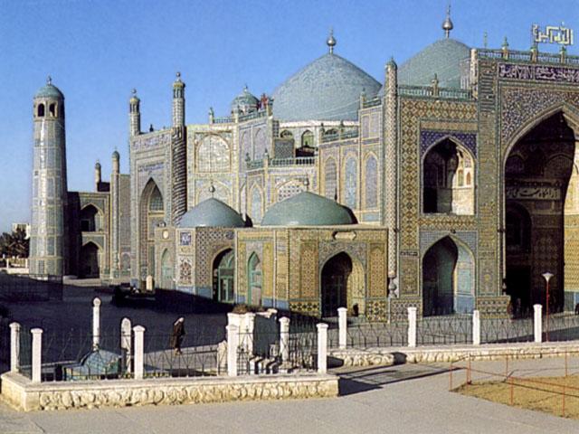 Mazar-i-Sharif: moschea e mausoleo di Alì
