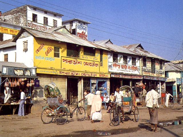 Dacca: il quartiere di Kamalapur