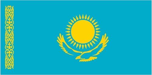Bandiera del Kazakistan
