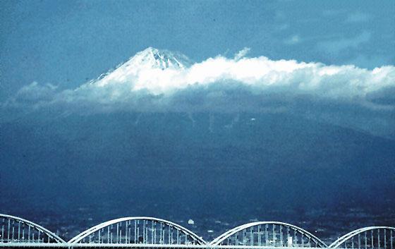 Il monte Fujiyama