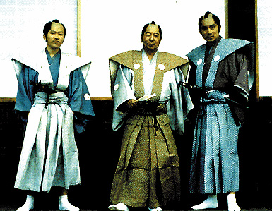 Alcuni samurai