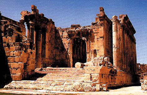 Il tempio di Bacco a Baalbek