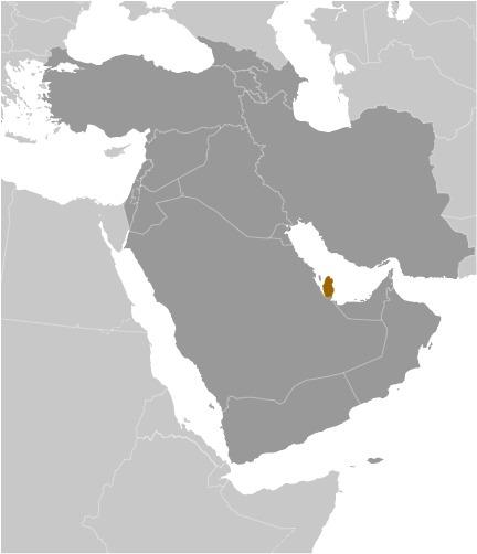 Qatar nella penisola arabica