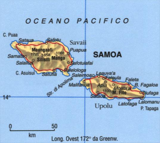 CArtina di Samoa