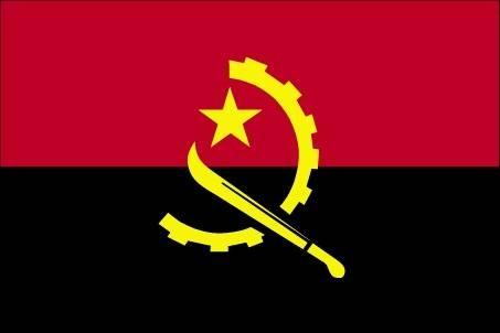 Bandiera dell'Angola