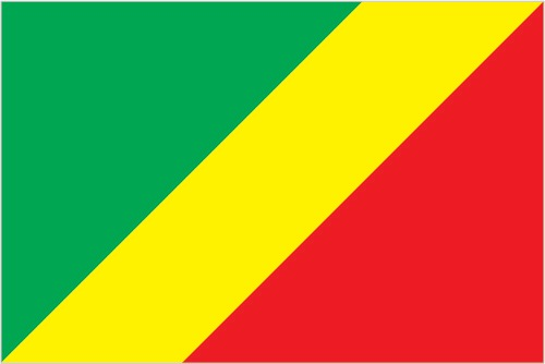 Bandiera della Repubblica del Congo