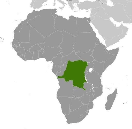 Africa la Repubblica Democratica del Congo